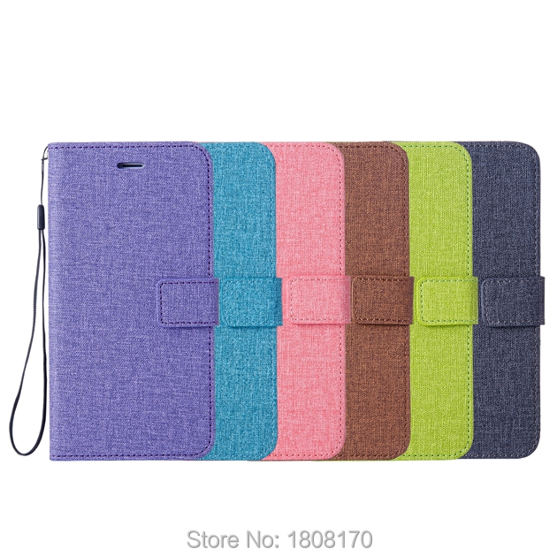 C-Ku Canvas Cloth Wallet Leather Case For Samsung Galaxy A8 Plus 2018 J2 Pro S9 S6 S7 Edge S8 NOTE8 J3 Phone Stand Cover 100pcs