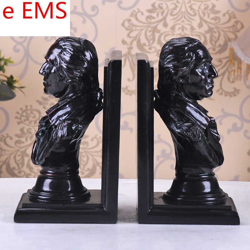 Gypsum Bookends Statue George Washington Book End Bust Continental Army Teaching Aids Resin Art & Craft Home Decorations L2337Gypsum Bookends Statue George Washington Book End Bust Continental Army Teaching Aids Resin Art & Craft Home Decorations L2337