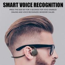 الأصلي سماعات بلوتوث 5.0 العظام التوصيل سماعات لاسلكية سماعات رياضية سماعات يدوي دعم انخفاض الشحن