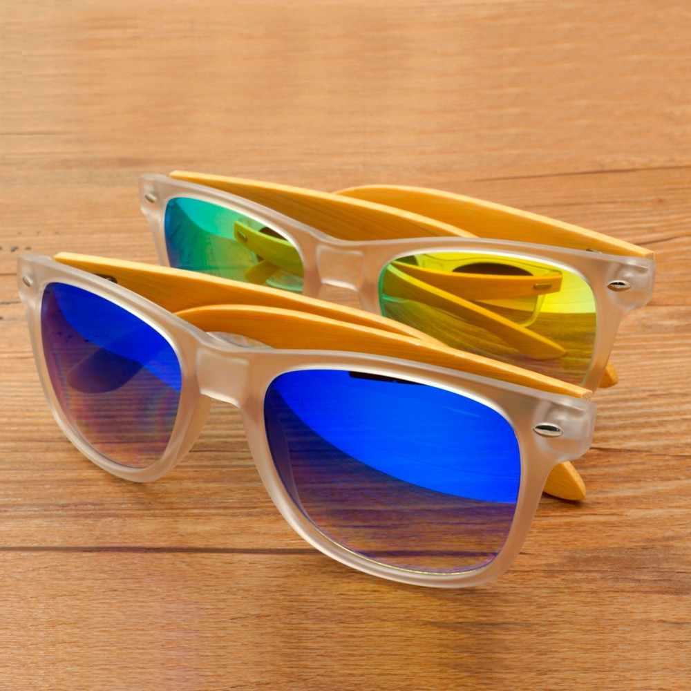 7fcb48133a ... BOBO BIRD New Men and Women Sunglasses Polarized Bamboo Wood Holder  Beach Sun Glasses With Wooden ...