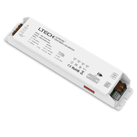 New Led DMX dimming Driver AC100 240V input 24V 6.25A 150W 2 channel output DMX512 Led Constant Voltage Dimmable Power Driver