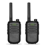 מכשיר הקשר 2pcs 100% מקורי WLN KDC10 מכשיר הקשר UHF 400-470MHz 16 אמאדור רדיו Ham ערוץ Mini שני הדרך רדיו תחנת FMR PMR KDC10 (2)