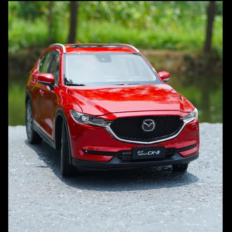 1:18 high simulation MAZDA CX 5 2018 alloy car model,die cast metal gift model,advanced collection SUV,free shipping