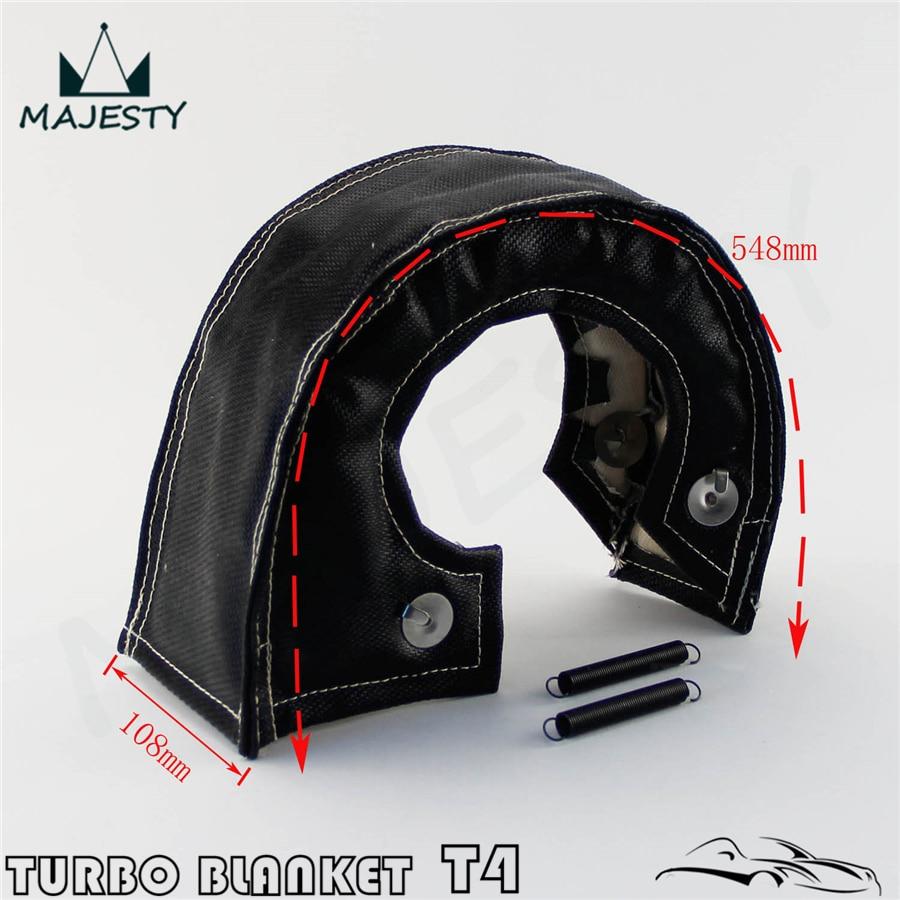 Gazechimp Cubierta de Protecci/ón Turbo Funda de Aislamiento de Turbocompresor para T4 T67 T71 T76 T88 Gt40 Gt45 T61