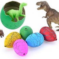 2017 neue 60 STÜCKE Fluss steine Wasser Magische Wachsende Dinosaurier eier Schraffur Kinder Spielzeug Nettes geschenk Für schöne jungen Freies verschiffen