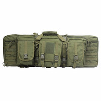 Tactical Hunting Backpack Dual Rifle Square Carry Bag for 385 Shoulder Strap Gun Protection Case Backpack
