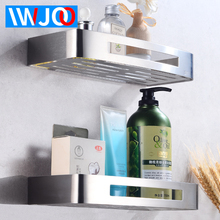 купить Bathroom Shelf Corner Organizer Stainless Steel Bathroom Shelves Shower Storage Rack Decorative Toilet Cosmetic Shampoo Basket дешево