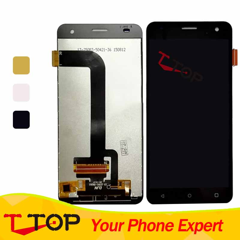 FS 504 LCD Complete For Fly FS504 Cirrus 2 LCD Display And Touch Screen Digitizer Assembly Sensor Replacement 1PC/Lot