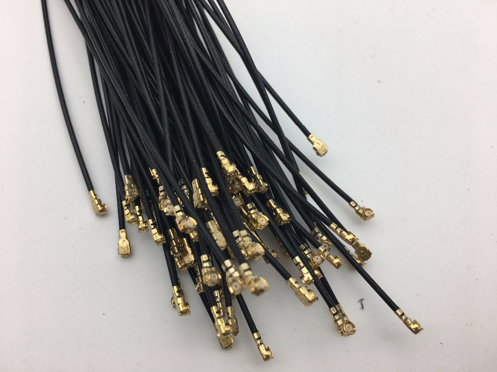 Image 2 - 50PCS/LOT 15cm U.FL Mini PCI to RP SMA Mini Pcie to SMA Pigtail Female interface Antenna WiFi Cable for MC8795V EC25 E etc.-in Semiconductors from Electronic Components & Supplies