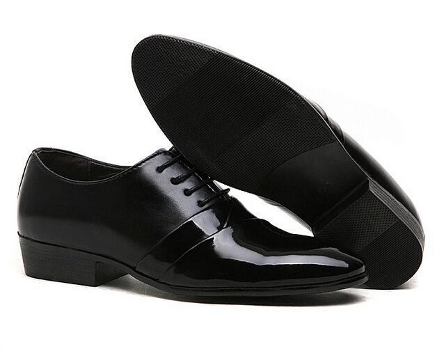 Male Pointed Toe Leather Shoes Fashion Commercial Black White Men Flats Dress Office For In Women S From On Aliexpress