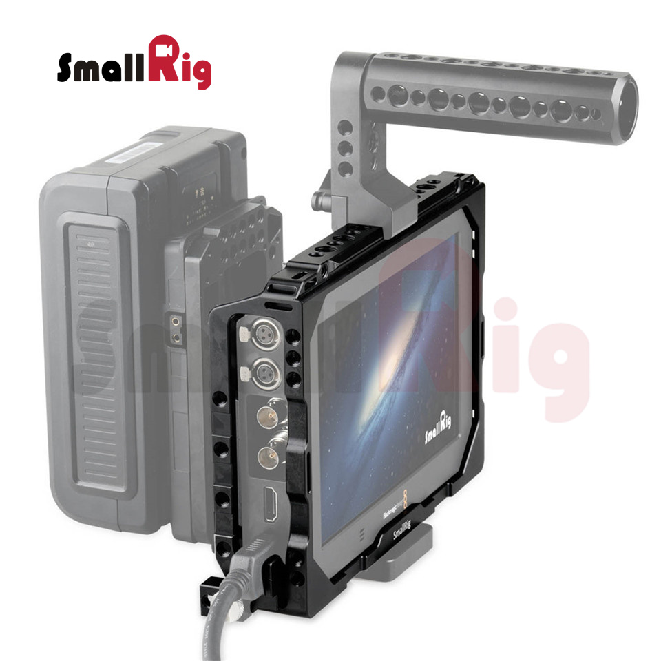 SmallRig Monitor Cage für Blackmagic Video Assist 7