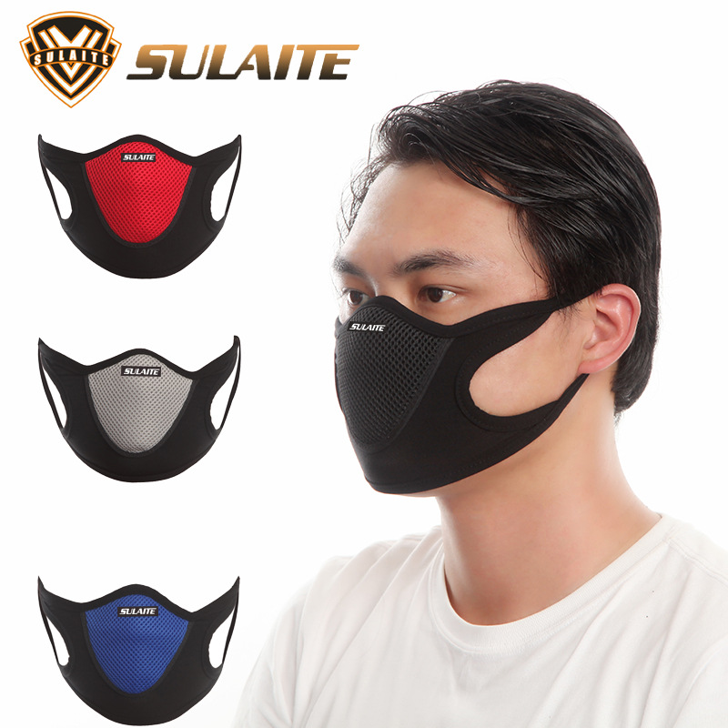 Anti Dust Mask Outdoor Sports Anti-pollution Mask Breathable Dustproof Respirator Bicycle Motorcycle Anti Sand Protective Masks
