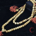 IB6411 Tibet Yak Bone Loose Beads 8mm 10mm 12mm Buddhism 108 Prayer Beads Necklace Mala Nepal Tibet Beads