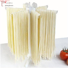цены Plastic Spaghetti Pasta Drying Rack Noodles Stand Hanging Portable Holder for Kitchen Massas Accesorios Cocina Tool