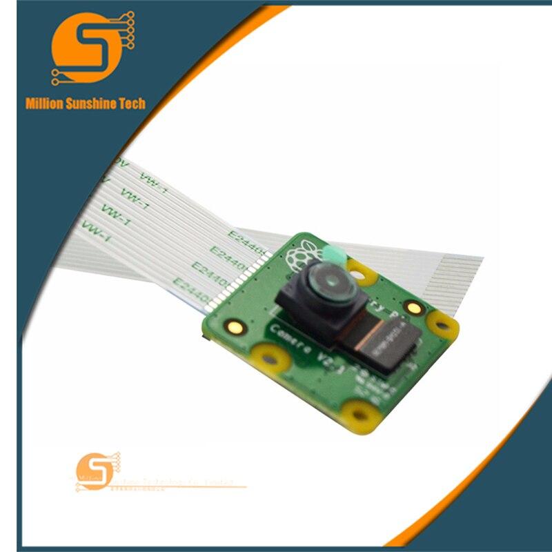 Nouveauté Raspberry pi caméra V2 Module Board 8MP Webcam vidéo 1080 p 720 p caméra officielle + support de caméra pour Raspberry Pi 3