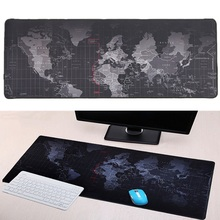 700x300mm/800x300mm/900x400mm Large Size World Map Speed Keyboard Mouse Pad Mat Computer Gaming Mousepad Locking Edge Table Mat