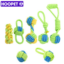 HOOPET Dog Toy Chews Cotton Rope Knot Ball Grinding Teeth Odontoprisis Pet Large Small 7 Style Options