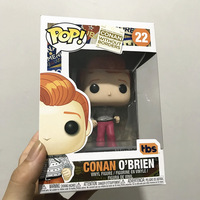 Exclusive Official Funko pop Conan Without Borders K Pop Conan O'Brien Vinyl Action Figure Collectible Model Toy In Box