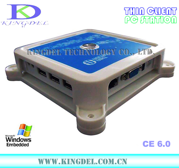 Mini PC, PC Multi-Usuario Compartir, Procesador ARM11 800 Mhz, Win CE 6.0 OS, 12