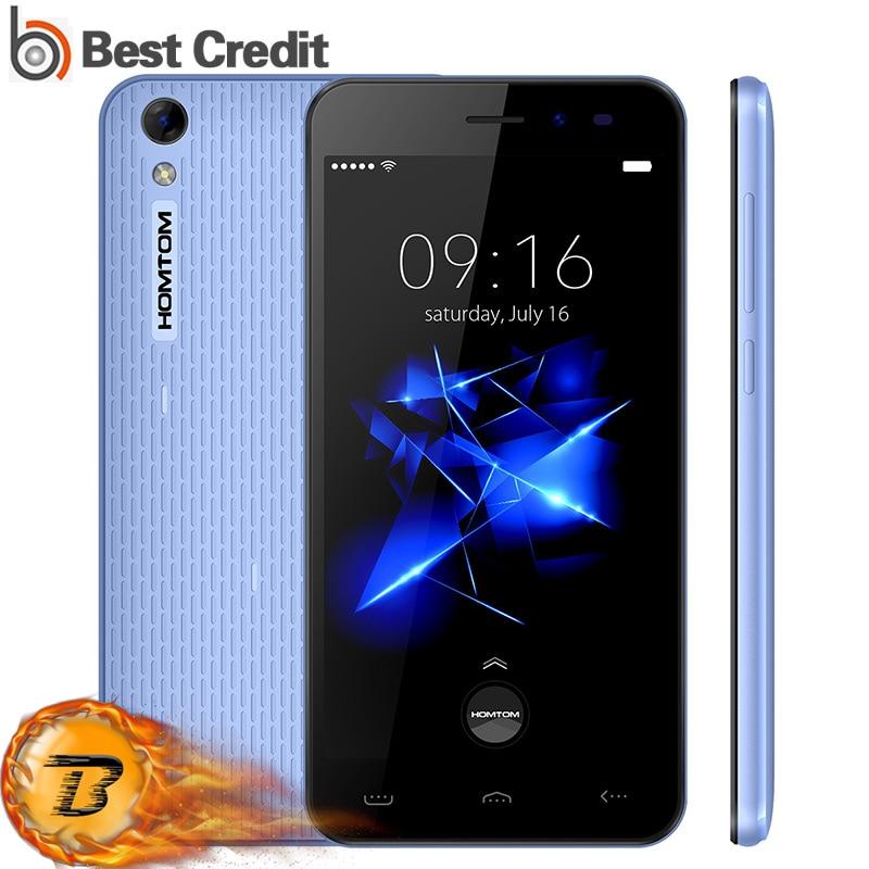 "bilder für 100% Original Homtom HT16 PRO Handy 5 ""HD 1280x720 MTK6737 Quad Core Android 6.0 2 GB RAM 16 GB 13MP 4G 3000 mAh Smartphone"