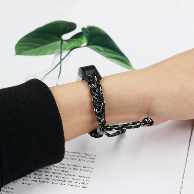 LNOP Woven Nylon strap For Fitbit Alta band Alta HR replacement band Survival Bracelet wristband watchband strap Fitbit Alta 5