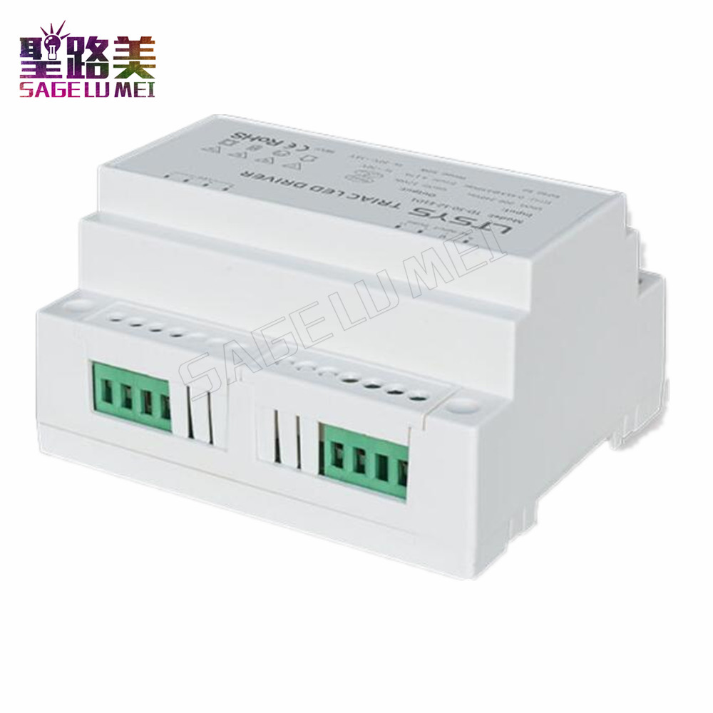 TD-50-12-E1D1;200-240VAC input,Output 12VDC 4.2A 50W constant voltage CV intelligent Triac Dimmable LED Driver Dimmer DIN Rail kvp 24100 td 24v 100w triac dimmable constant voltage led driver ac90 130v ac170 265v input