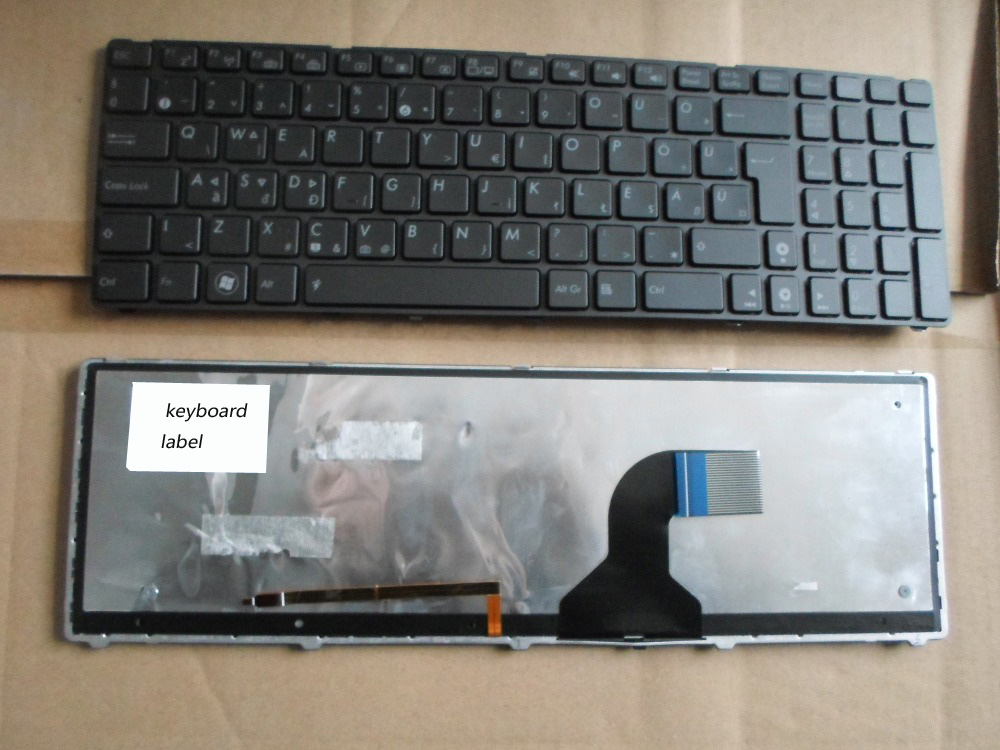 New notebook laptop keyboard for ASUS G51 G51J G51V G53 G53JW G60 G60J G72 G73 HUNGARIAN HU layout