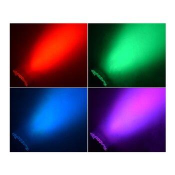 Lumière Menée Par Rvb 54x3w Avec 8 Canaux DMX 512 Effet D'éclairage D'étape De Lavage Lumière Disco Dj équipement D'exposition Polychrome
