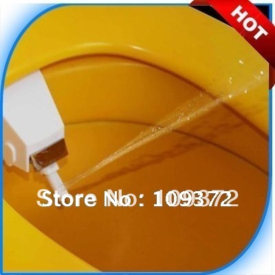 The Most Simple and Practical Soft Spray Bidet Kits Toilet Seat Attachment Hygienic Attachable Toilet Bidets, Free Shipping