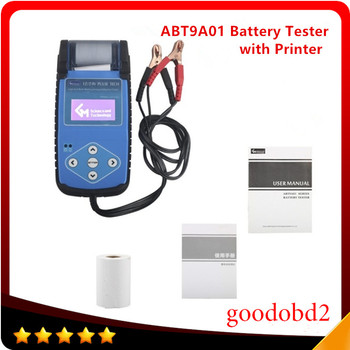 Best ABT9A01 Automotive Battery Tester with Printer Quickly Test the Battery's main Specifications Resistance CCA Voltage