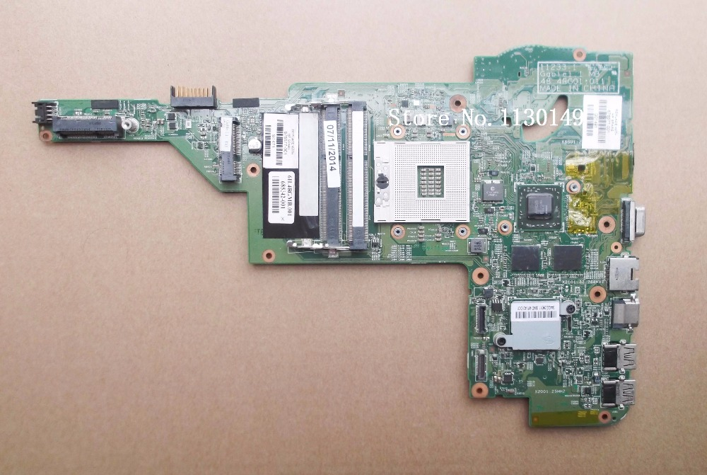 free shipping Working 676577-001 For HP DM4 DM4-3000 motherboard 11233-1 48.4RG01.011 with 216-0833018 GPU Onboard DDR3 bering 11233 222
