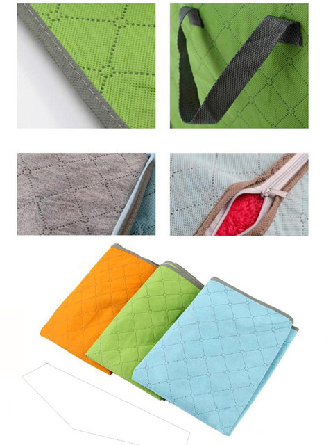 Storage Organizer Bag Clothes Quilt Foldable Storage Wardrobe Multi-purpose Pouch Bag Organize 2