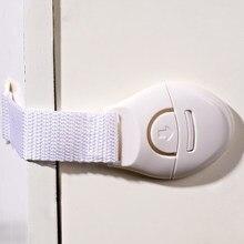 Serrure de ceinture en tissu pour enfants, Protection des bébés, sécurité des tiroirs, des portes, des armoires, des réfrigérateurs
