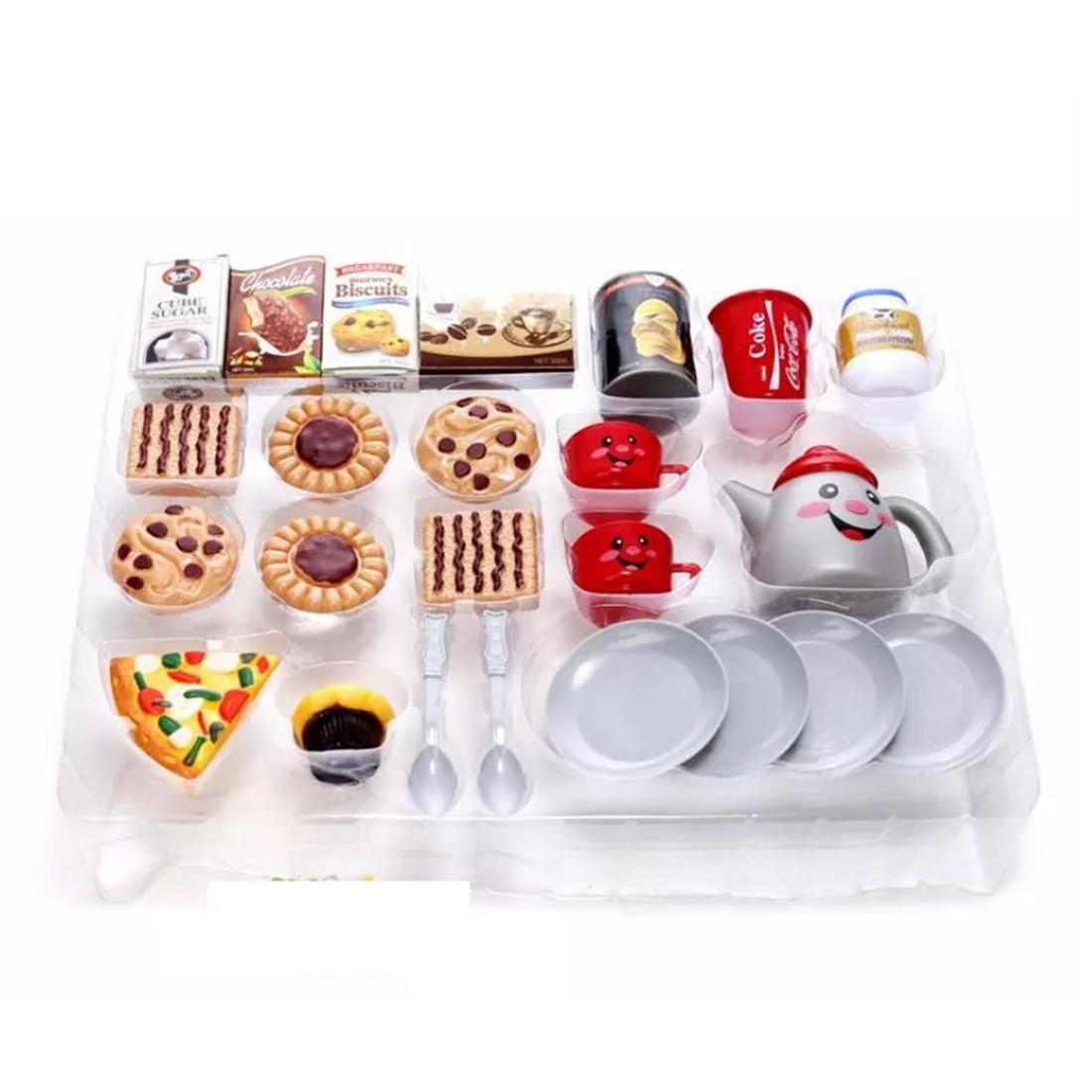 Afternoon Tea Dessert Toy Set Pretend & Play Children Home Educational Toy