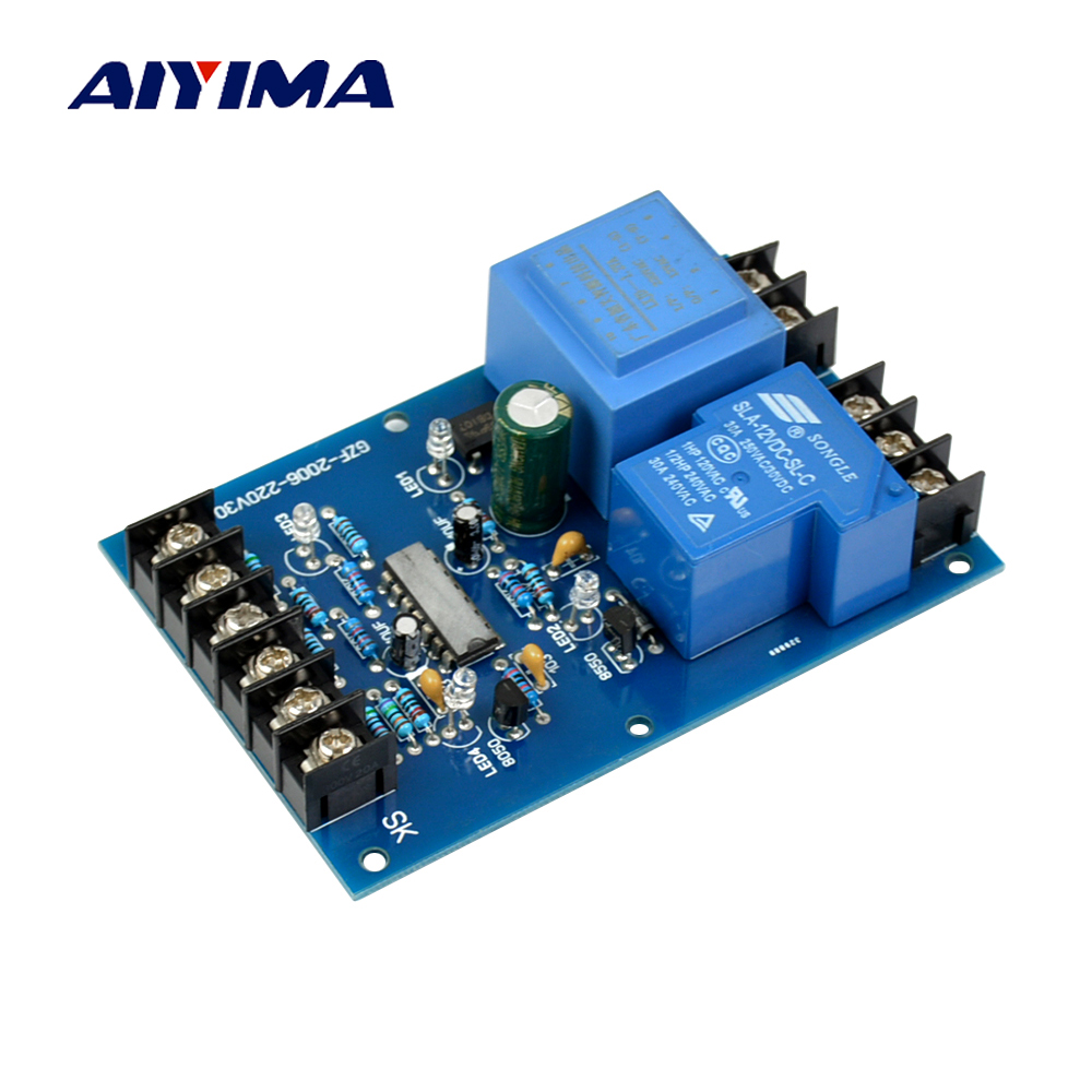 Aiyima Multifunction High power Automatic Liquid Level Controller Module Water Level Detection Sensor AC220V special offer watersensor water level sensor rain droplets drops depth detection module accessories free shipping