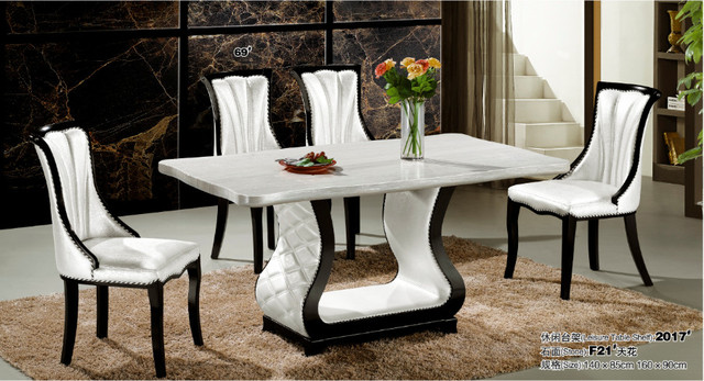 4e5db50351192 Chinese wholesale cheap price dining room furniture-in Dining Tables ...