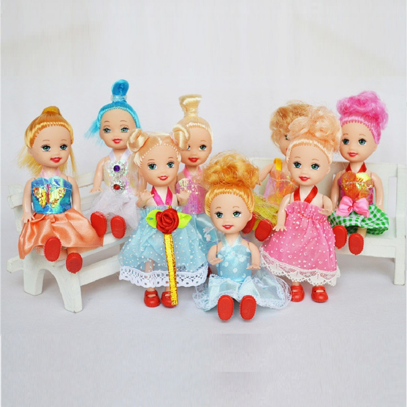 Small Toy Dolls : Pcs set cm doll small little princess dolls mini