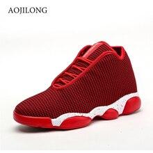 Любители баскетбольные кроссовки с высоким берцем Basket Femme спортивные ботильоны обувь из выделанной кожи Открытый Для мужчин ретро тренажерный зал ботильоны