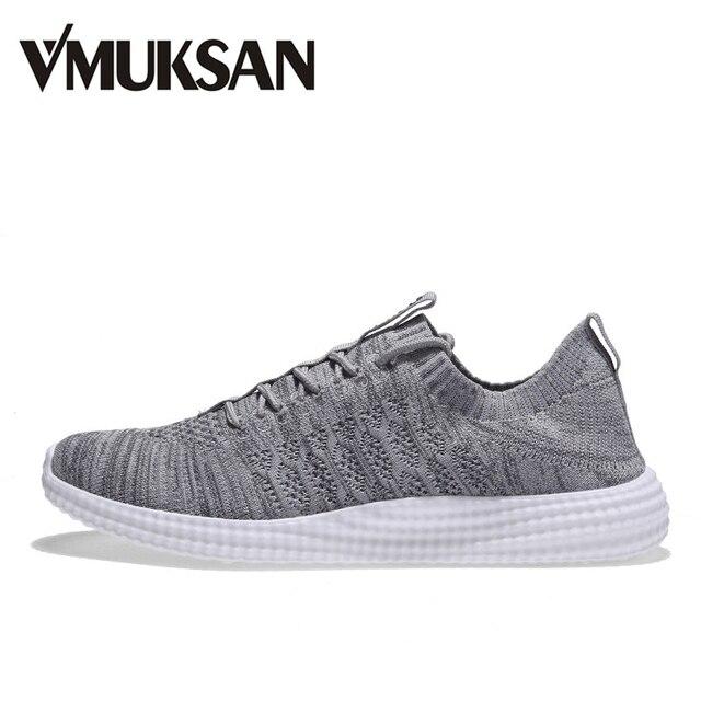 VMUKSAN Brand Men Casual Shoes 2018 Spring Breathable Lace Up Casual Men Shoes Fashion Designed Mens Shoes Big Size 39-46 Flats