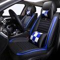 Voor + Achter PU Lederen Universele auto stoelhoezen fit Suzuki Alle Modellen Jimny Grand Vitara Kizashi Swift SX4 Wagon R Palet