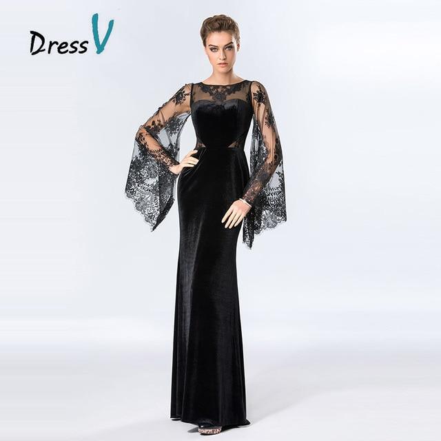 Нарядные платья чёрного цвета