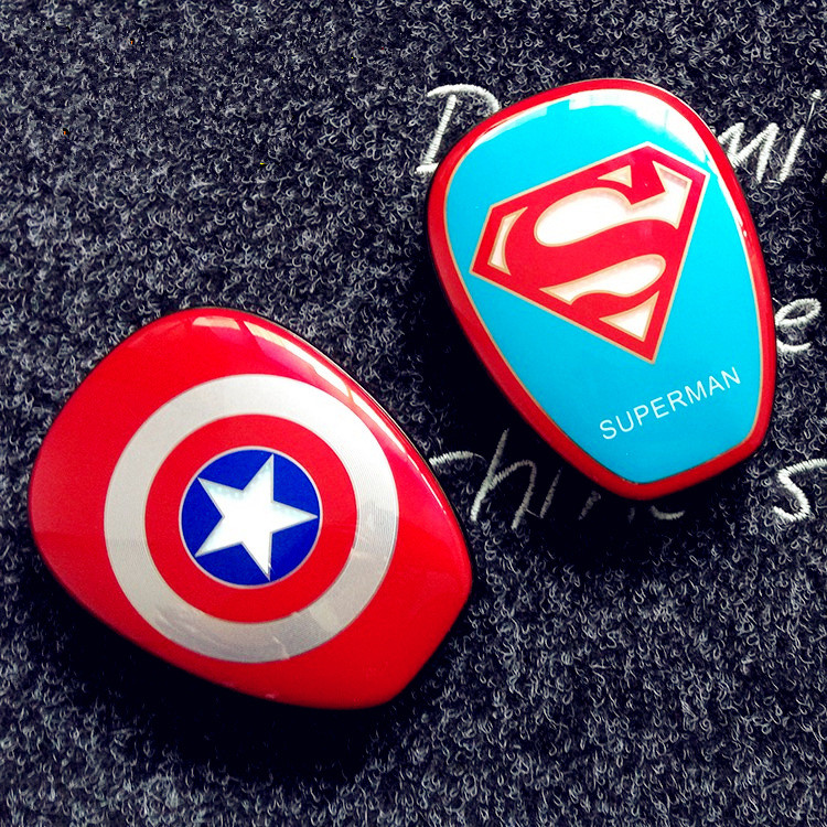 Cool Portable Power <font><b>Bank</b></font> Enough capacity The Avengers Captain America Iron Man Supermen <font><b>spider-man</b></font> Mobile Power Supply