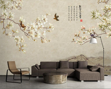 beibehang papel de parede Marble Pattern Handmade Magnolia Stone Background TV Wall wallpaper