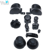 YuXi Full set D Pads Power ON OFF Button for GameCube A B X Y L R Buttons Analog stick Joystick Stick Caps