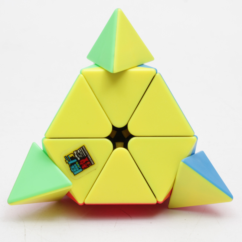 Moyu 3x3x3 Pyramid Magic Cube Pyramid Triangle Cube Magic Professional Puzzle Education Toys For Children Triangle