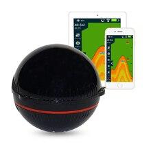 Erchang портативный гидролокатор, рыболокатор, Bluetooth, беспроводной, глубина, морское озеро, обнаружение рыбы, эхолот, Sener, рыболокатор, s IOS, Android