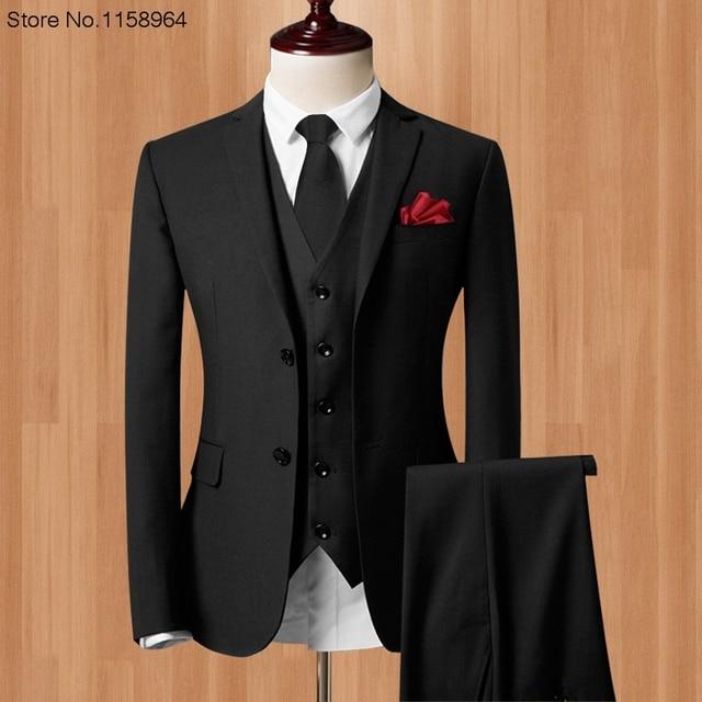 acheter 2017 nouvelle arriv e homme costumes custom made mari smokings mode. Black Bedroom Furniture Sets. Home Design Ideas