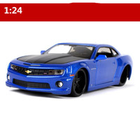 1:24 Advanced collection model alloy car toy,High simulation Chevrolet Camaro SS diecast metal model vehicle,free shipping