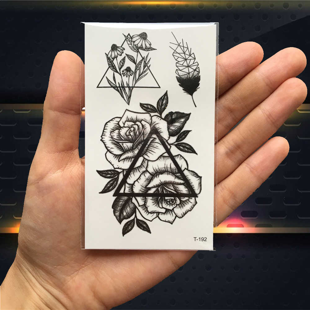 Detail Feedback Questions About Black Triangle Rose Flower Fake