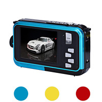 Double Screen Waterproof Camera 24MP 16x Digital Zoom Dive Camera Home Video Camera NOJL26